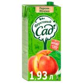 Нектар Фруктовый сад персик-яблоко 1,93л
