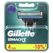 Кассеты Gillette Mach3 4s 4шт
