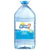 Вода детская Агуша 5л негазированная питьевая
