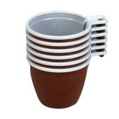 Чашка кофейная 200мл 6шт