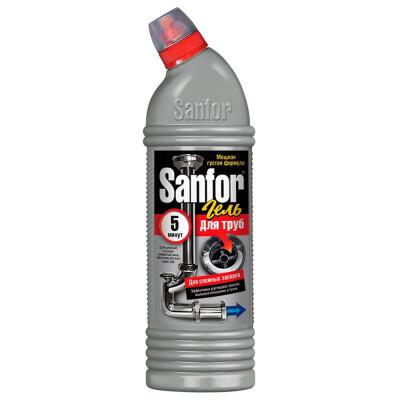 Гель для прочистки труб 750мл Sanfor плюс