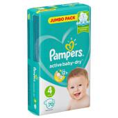 Подгузники Pampers Active Baby 70шт maxi 9-14кг джамбо 4