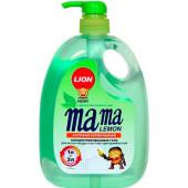 Средство для мытья посуды Мама лимон 1л зелёный чай антибактериальное