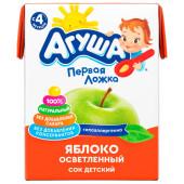 Сок Агуша 200мл яблоко осветленный с 4 месяцев