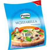 Сыр для пиццы Mozzarella Pretto 460г 45%