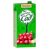 Нектар Фруктовый сад яблоко, вишня, черноплодная рябина 1,93л