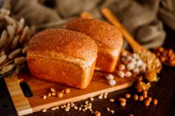 Хлеб с отрубями 200г, собственное производство