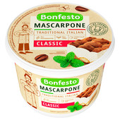 Сыр мягкий Mascarpone Bonfesto 250г 78%