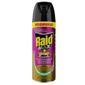 Спрей рэйд макс 300мл от летающих и ползающих насекомых весенний луг
