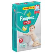 Трусики-подгузники Pampers Pants 60шт миди 6-11кг Jumbo 3
