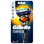 Станок Gillette Fusion ProGlide фиксболл с 2 кассетами
