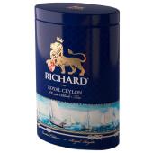 Чай чёрный Richard Classic Black Tea Royal Ceylon крупнолистовой цейлонский 80г