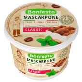 Сыр маскарпоне бонфесто 500г 78% мягкий