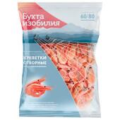 Креветки бухта изобилия 1кг 60/80