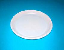Тарелка столовая 1-секц 100шт 16,5см белая хорека