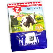 Масло сливочное Люблю Жизнь 180г 82,5% крестьянское фольга