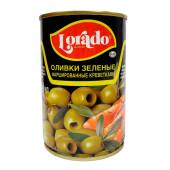 Оливки Lorado с креветками 314 мл ж/б б/к
