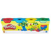 Набор для творчества Hasbro Play-Doh масса для лепки 4цв 23241eu4