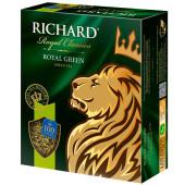 Чай Richard 100пак*2г зеленый роял грин