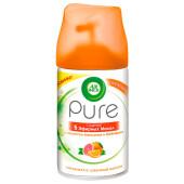 Освежитель воздуха AirWick Pure 250мл апельсин и грейпфрут сменный блок 5 масел