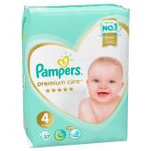 Подгузники Pampers Premium 37шт maxi 9-14кг 4