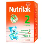Смесь молочная Nutrilak-2  с 6 месяцев 600г
