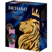 Чай Richард 100пак*2г королевский чабрец и розмарин чёрный