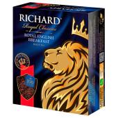 Чай Richард 100пак*2г роял инглиш брекфаст черный байховый