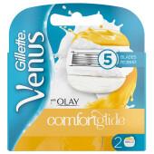 Кассеты Gillette Venus олэй 2шт женские