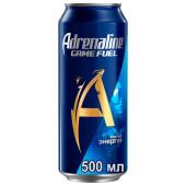 Газированный напиток Adrenalin Rush игровая энергия 0,449л ж/б