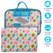 Подушка детская Save&Soft для сна 40*26*7/5 см розовый сумка из пвх