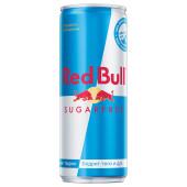 Напиток Red Bull 0,25л энергетический без сахара ж/б