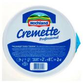 Сыр  хохланд cremette professional 2кг творожный