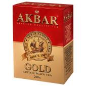 Чай Akbar Gold 250г черный