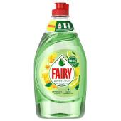 Средство для мытья посуды Fairy 450мл пьюр энд клин бергамот и имбирь