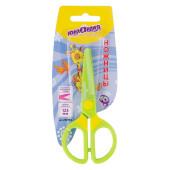 Ножницы 125мм Юнландия мультяшки с безопасными пластиковыми лезвиями 236983