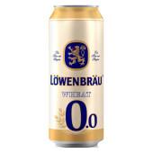 Пивной напиток ловенбрау 0,45л б/алк пшеничное ж/б
