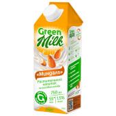 Напиток Green milk 0,75л на рисовой основе со вкусом миндаля