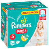Трусики-подгузники Pampers Pants 66шт Junior 12-17кг 5 мега для мальчиков и девочек
