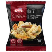 Пельмени с овощами и мясом Gyoza 600г Vici