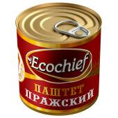 Паштет Ecochief 250г пражский гост ж/б ключ