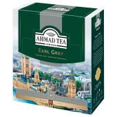 Чай Ahmad Tea 100пак*2г Grey с/я №595