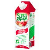 Напиток Green milk 0,75л соевый яблоко корица