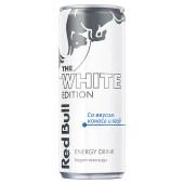 Напиток Red Bull 0,25л White Edition кокос ягоды газированный энергетический ж/б