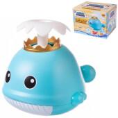 Игрушка для ванны Abtoys веселое купание китенок-поливалка с фонтанчиком