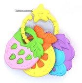 Грызунок нордпласт бегемотик фрукты в ассортименте 3шт 769